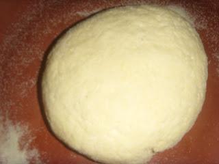 Mini-Harcha ou Mini-7archa marocaine sucrée à base de farine de maïs Harcha%20m3amra%20002