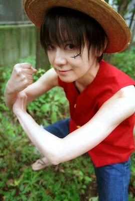 Cosplay One Piece Luffy3