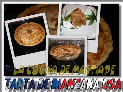 Tarta de manzana al estilo USA Collage8