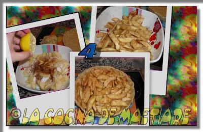 Tarta de manzana al estilo USA Collage3