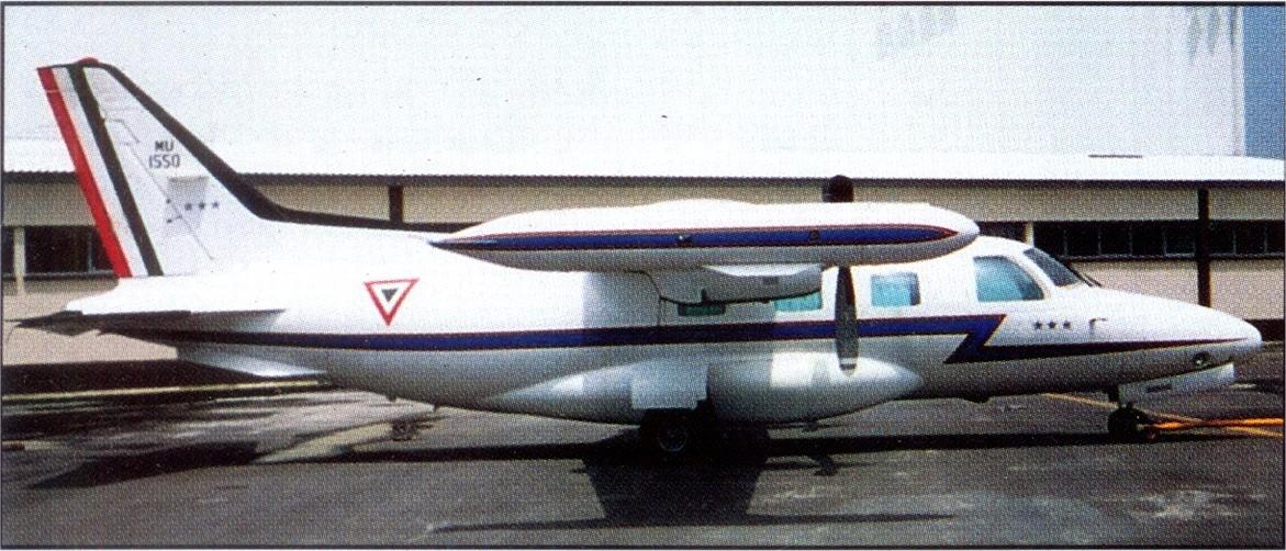 aeronaves - Inventario  de  aeronaves de  la  FAM  ( actualizado 23 Febrero 2016 ) MU-2J