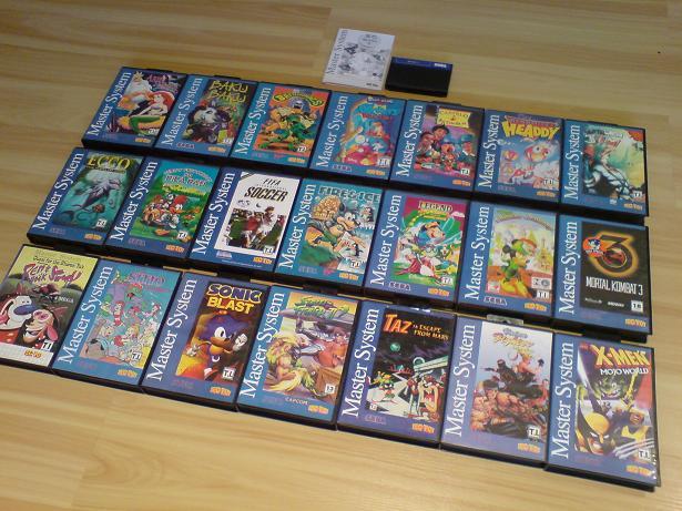 Tectoy et Sega:  Pour le meilleur... et pour les collectionneurs !! Allofthem