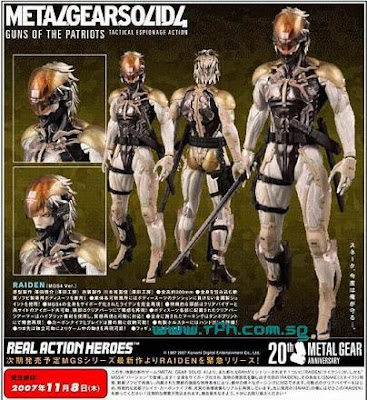 Metal Gear Solid: Rising Z_medicom_mgs4raiden