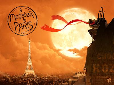 UN MONSTRE A PARIS - EuropaCorp - 12 Octobre 2011 - Affiche4par3CANNES