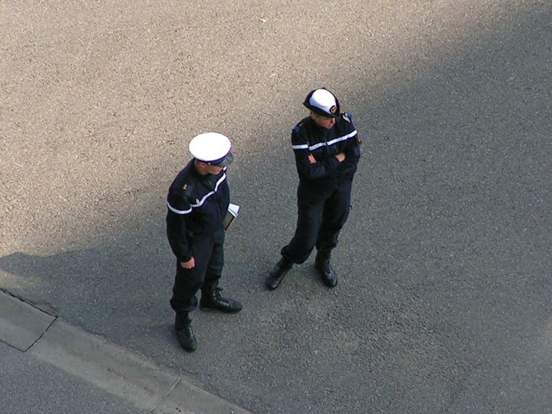 [ Divers Gendarmerie Maritime ] Brest / Aout 2007 Arsenalbrest0807d