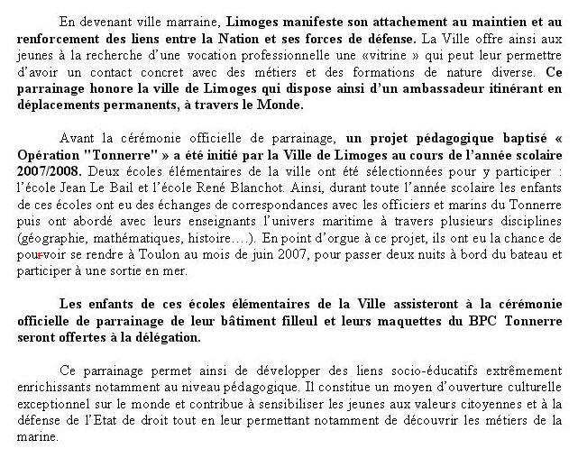 [Les traditions dans la Marine] Les Villes Marraines - Page 3 Villem10