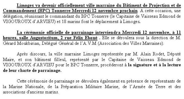 [Les traditions dans la Marine] Les Villes Marraines - Page 3 Villem9