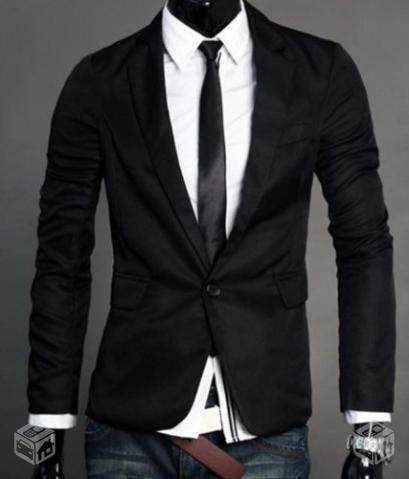 Sette Bello Blazer-Slim-Fit-Black-20131002022549