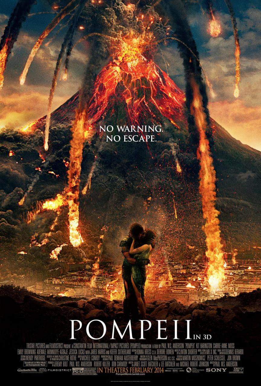 Pompeii avec Kit Harington (Jon Snow dans Game of Thrones) Pompeii-nouvelle-affiche-volcanique-affiche