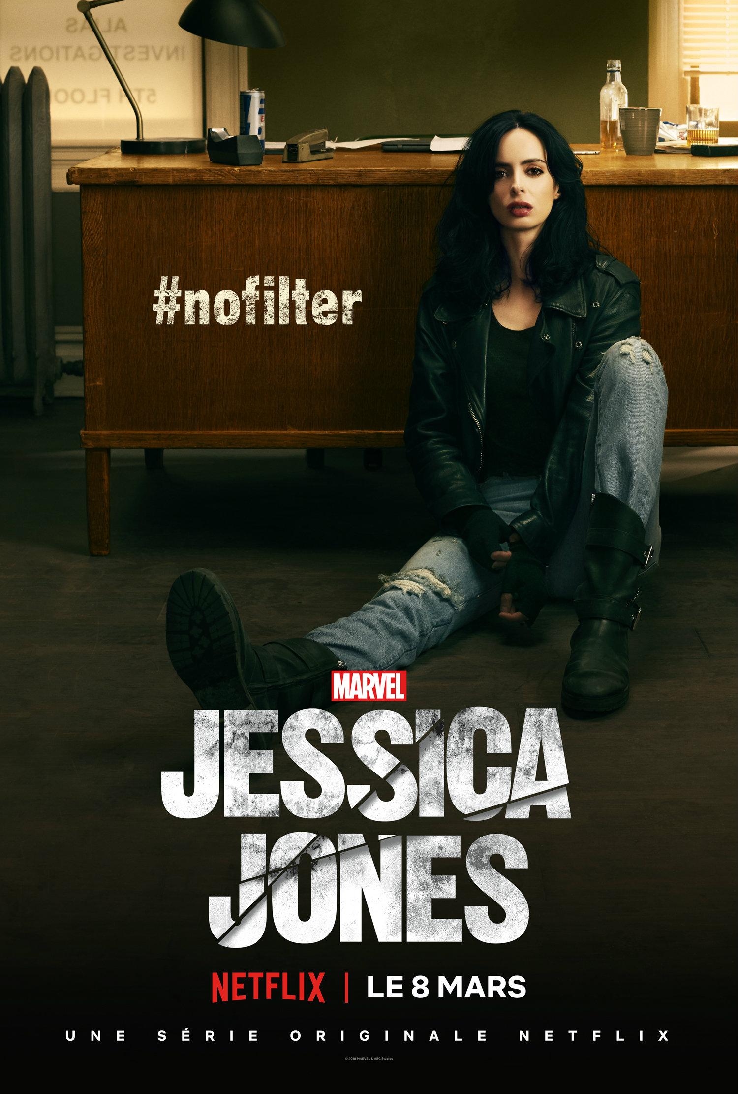 Séries Marvel - Page 15 Jessica-Jones-saison-2-affiche