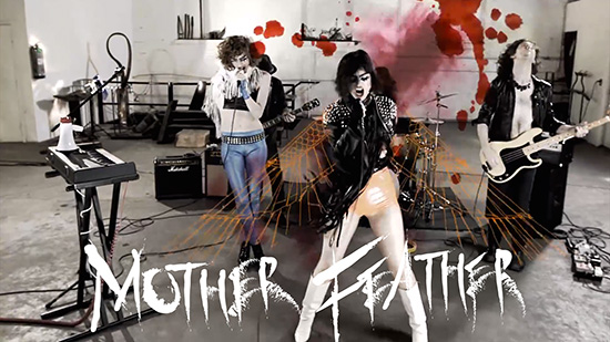 MOTHER FEATHER, the ultimate New York band Motherfeatherbandvideo