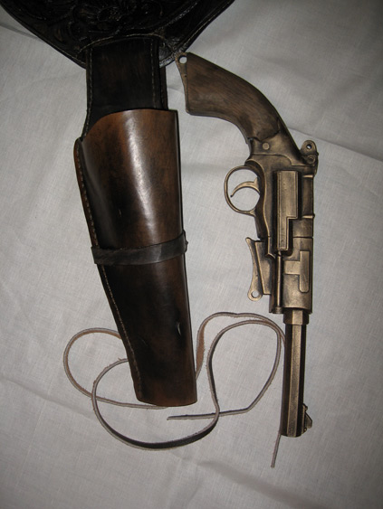 Gunbelt / holster Gunbelt3