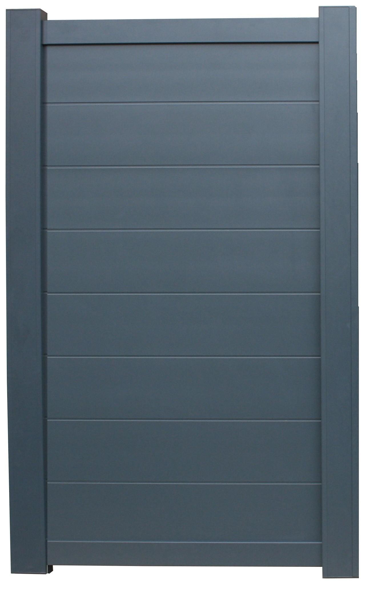 Cloturer son jardin (grillage)   Portillon-aluminium-elise-100m-x180