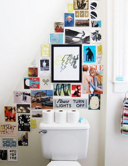 comment agrémenter mes toilettes D%C3%A9coration-murale-wc