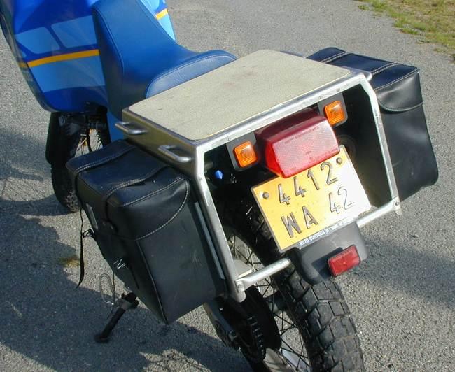 Préparation XR 125 pour un voyage en Afrique Tenerearriere