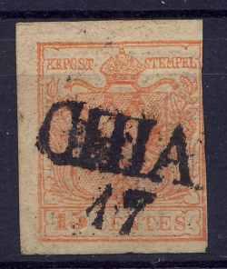 Österreichische Stempel ab 1850 Oesterreich4