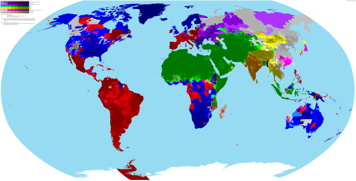 Interesting maps and infographics - Page 2 World-religion-map