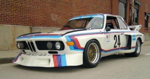 BMW e30 ///M3-look BMW_3.5CSL_Vintage_Race_Car_Front_1