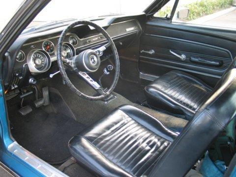 La historia de Mustang 1967_Ford_Mustang_T5_Fastback_Interior_1