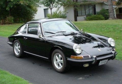 Los TOMICA de Shelby 1967_Porsche_911S_Black_Coupe_For_Sale_Front_1
