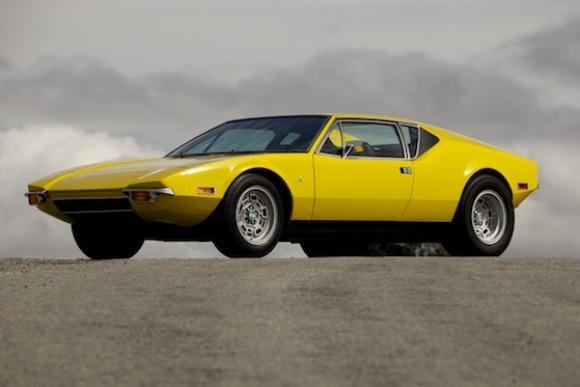 La ou les autos de tourisme qui vous font rêver - Page 3 1972_DeTomaso_Pantera_Chrome_Yellow_For_Sale_Front_resize