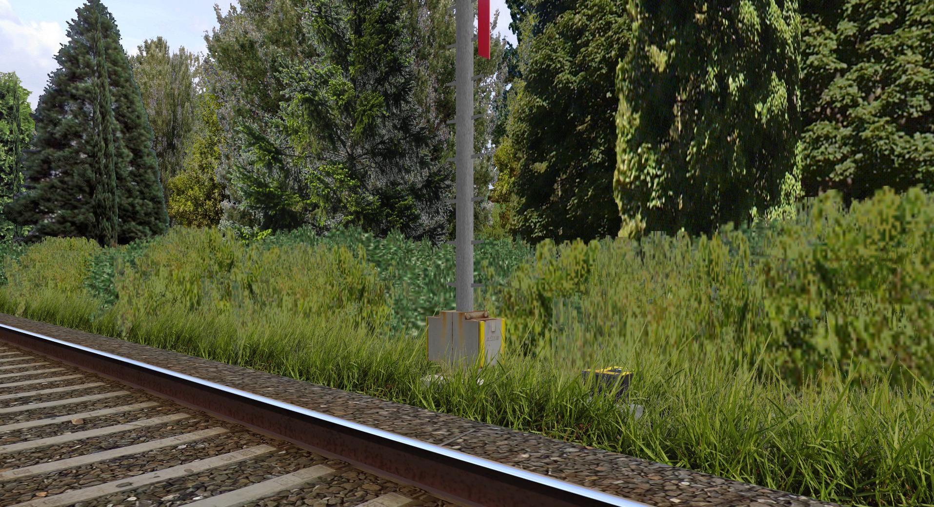 Rosice Railway Trava