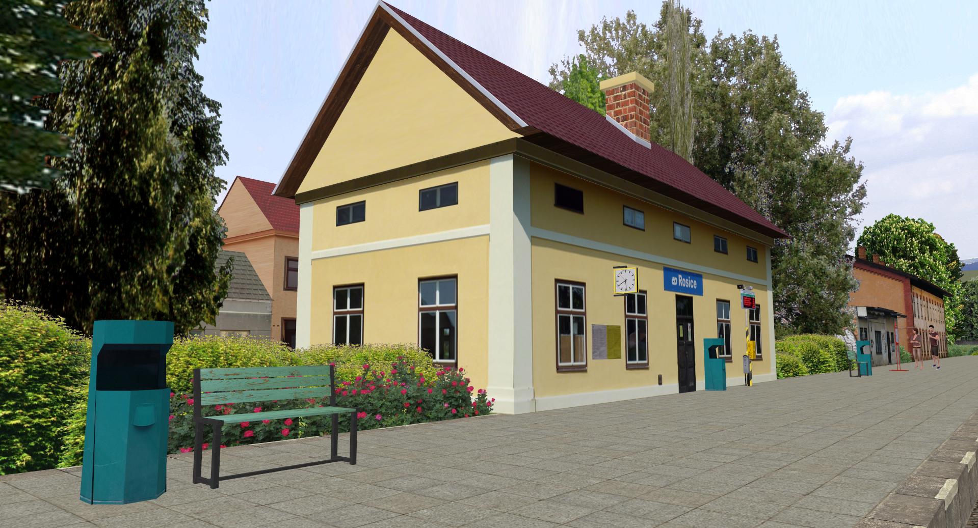 Rosice Railway Stanice