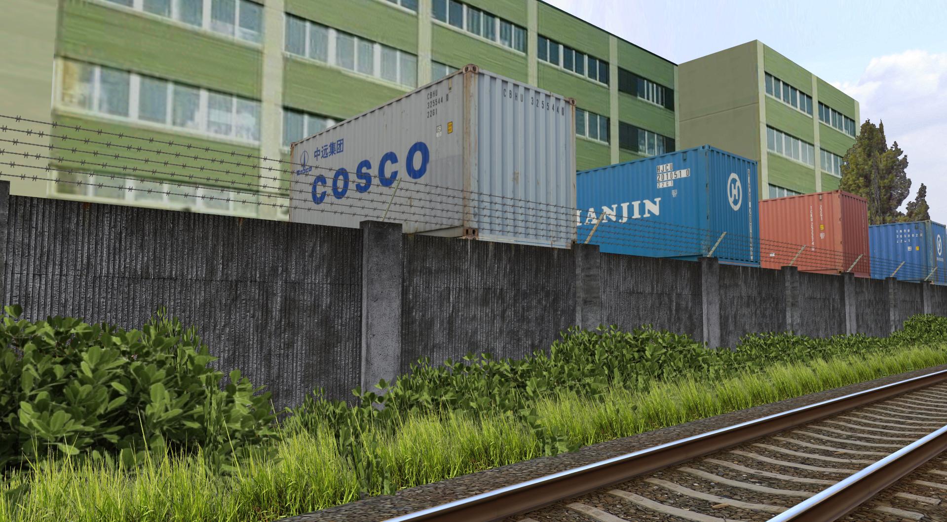 Rosice Railway Tovarna