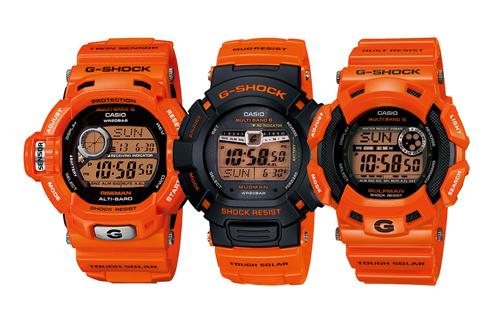 GULFMAN CASIO Casio-gshock-men-orange-1