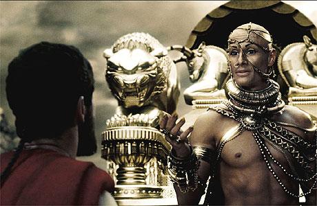 A genoux devant le Dieu Empereur ! Leonadis-and-xerxes