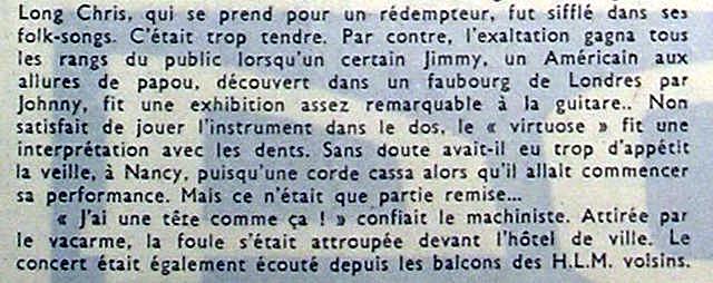 Villerupt (Salle Des Fetes) : 15 octobre 1966  Estrpublicain171066