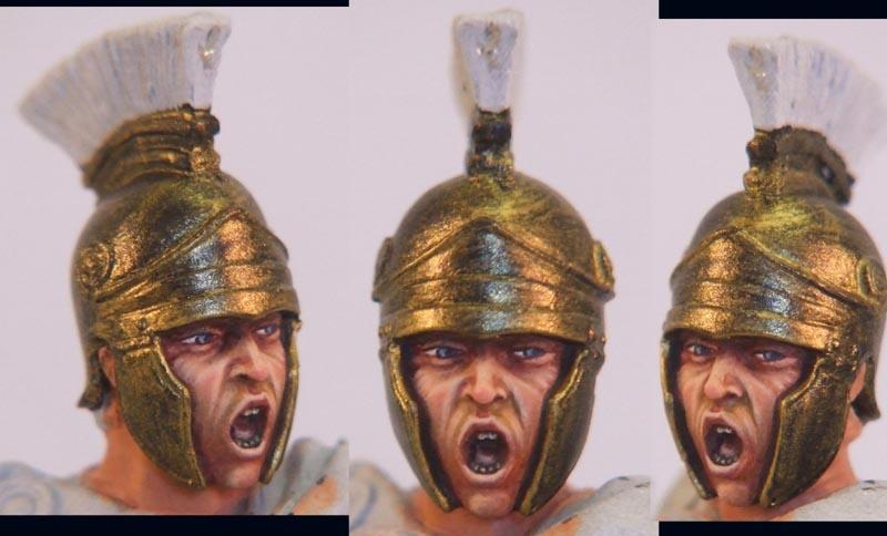 Praefectus Classis, officier romain, 75mm (Pegaso) Visaromweb