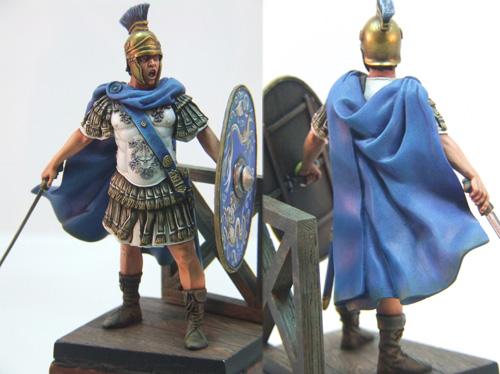 Praefectus Classis, officier romain, 75mm (Pegaso) Finalromain1web
