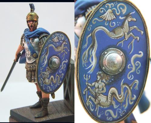 Praefectus Classis, officier romain, 75mm (Pegaso) Finalromainweb