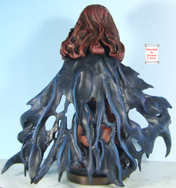l'atelier de bruno : La Reine Démon sculpté par JIM MADDOX Dosqueen
