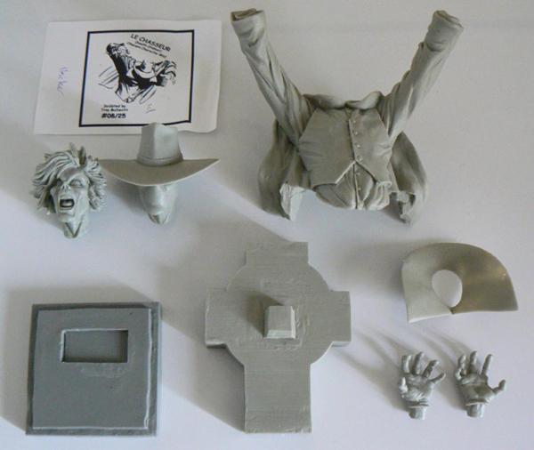 L'atelier de bruno : Le chasseur scultpé par Troy McDevitt Kit