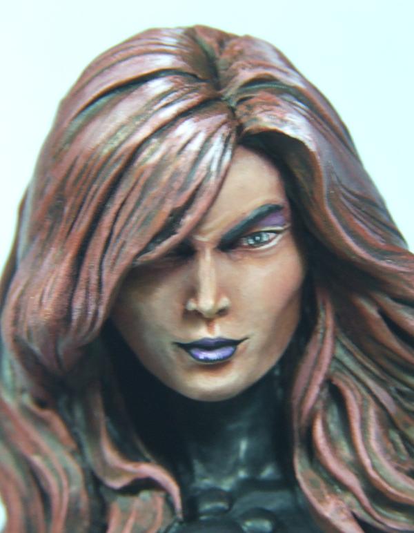 l'atelier de bruno : La Reine Démon sculpté par JIM MADDOX Visagequeen