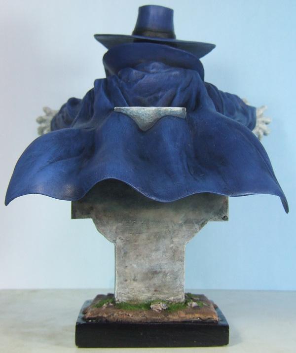 L'atelier de bruno : Le chasseur scultpé par Troy McDevitt Lechasseurdos