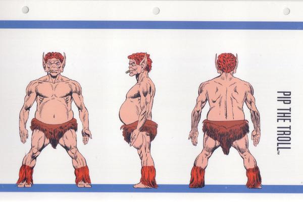 L'atelier de bruno  : Pip le Troll sculpté par Ydol Docpipletroll