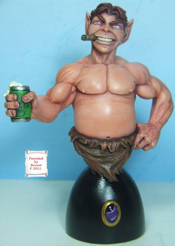 L'atelier de bruno  : Pip le Troll sculpté par Ydol Pip600