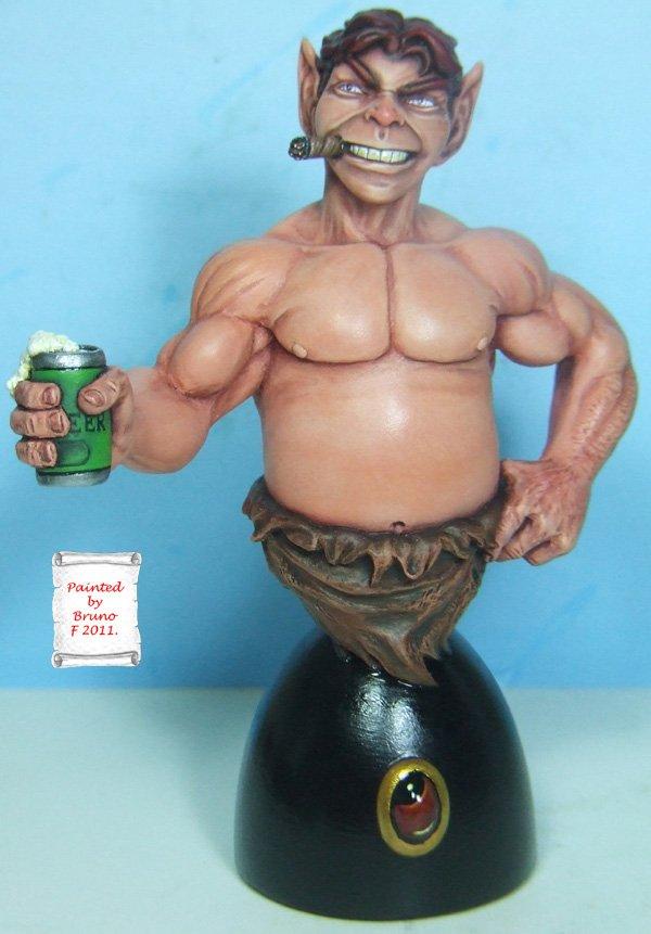 L'atelier de bruno  : Pip le Troll sculpté par Ydol Pipfinal
