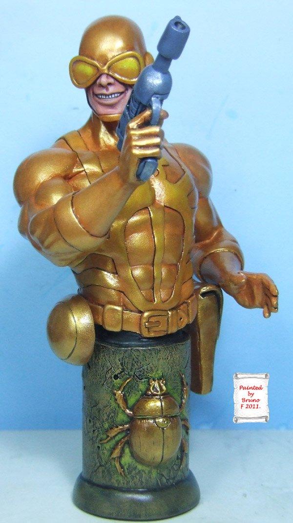 L'atelier de bruno : scarabé doré sculpté par Ydol Scarabdor1600