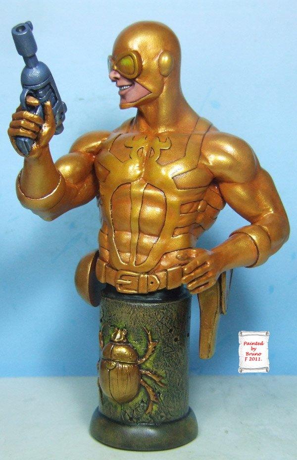 L'atelier de bruno : scarabé doré sculpté par Ydol Scarabdor2