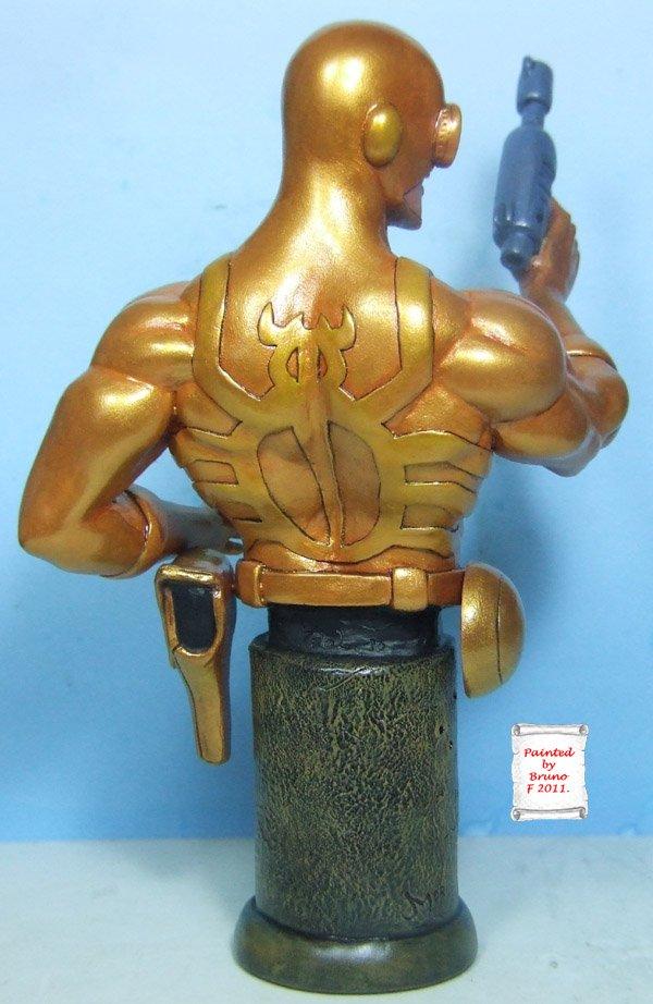 L'atelier de bruno : scarabé doré sculpté par Ydol Scarabdor3
