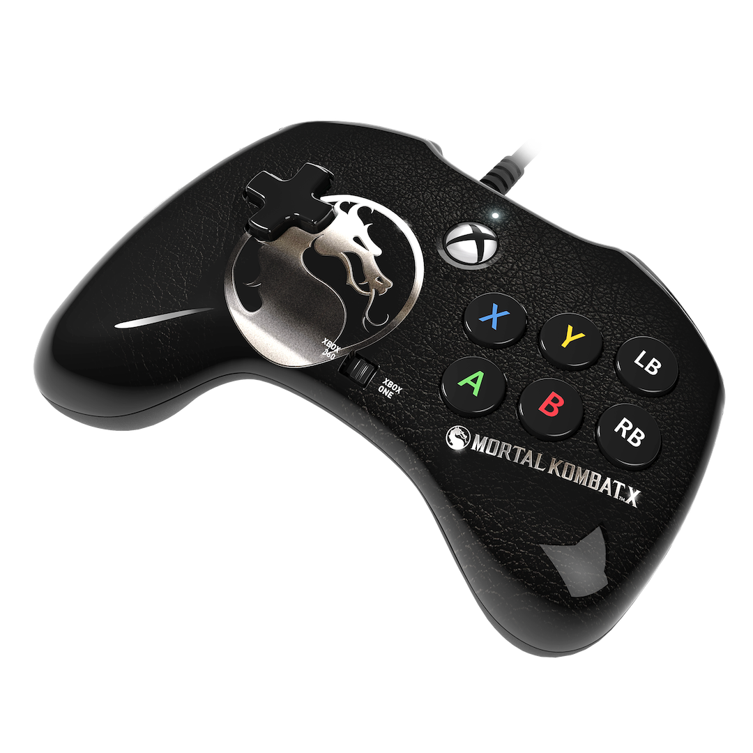 Mortal Kombat X 048-009-PDP-MKX-Fight-Pad-for-XBOne-and-XB360-angle3
