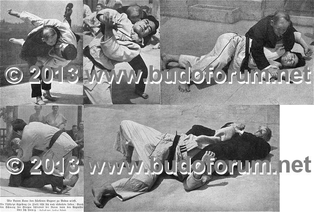 Meeting between Hitler and Kano KJ1933