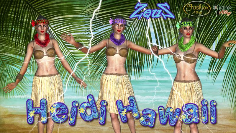 iClone Character Pack - Heidi Hawaii G6 1458474760_iclone-character-pack-heidi-hawaii-g6