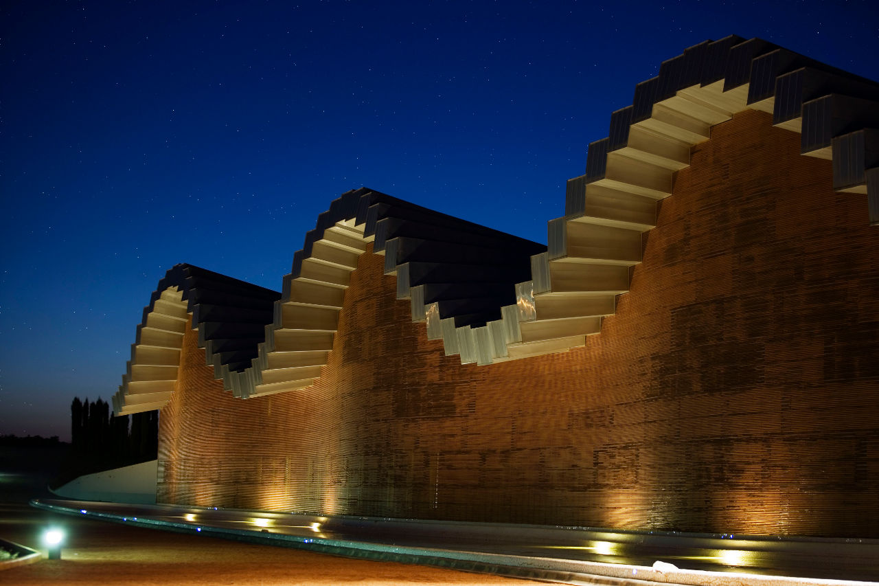 Moderna arhitektura Santiago_Calatrava_Ysios_Bodega_16