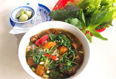 Quán ăn, ẩm thực: Quán Bún Chả Ngon Quận Bình Thạnh Bun-bo-sot-vang1544171479