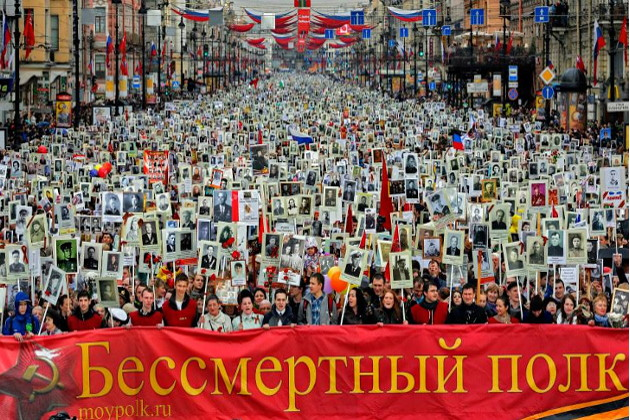 """May 9 - """"Victory"""" in the Second Russian Holocaust 05_immortal_regiment"""